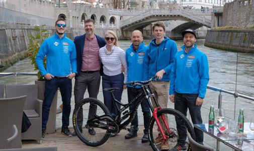Metka Bradetić, Dalibor Cvitković, Sebastjan Zmrzljak, Mercedes-Benz Mountain Bike World Cup Lošinj
