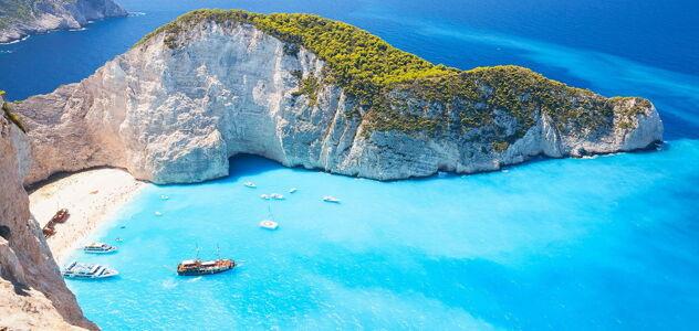 Najem plovila v Grčiji