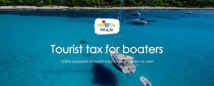 Turistična taksa za navtike - plovila