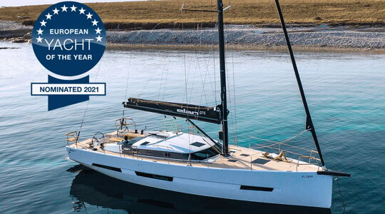 Elan GT6 nominated for the European Yacht Of The Year 2021
