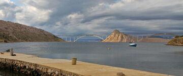 Most na otok Krk