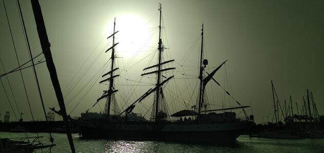 Walter Teršek, Orplid, sailing